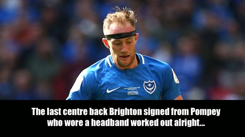 Brighton sign Pompey defender Matt Clarke for £3.5m