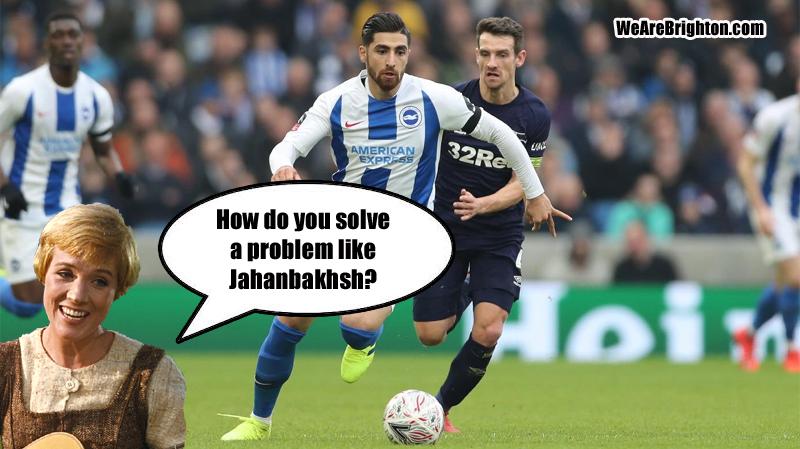 What should Brighton do with Alireza Jahanbakhsh?